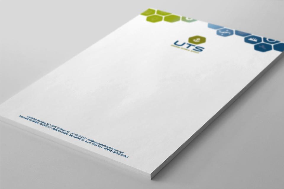 UTS briefpapier