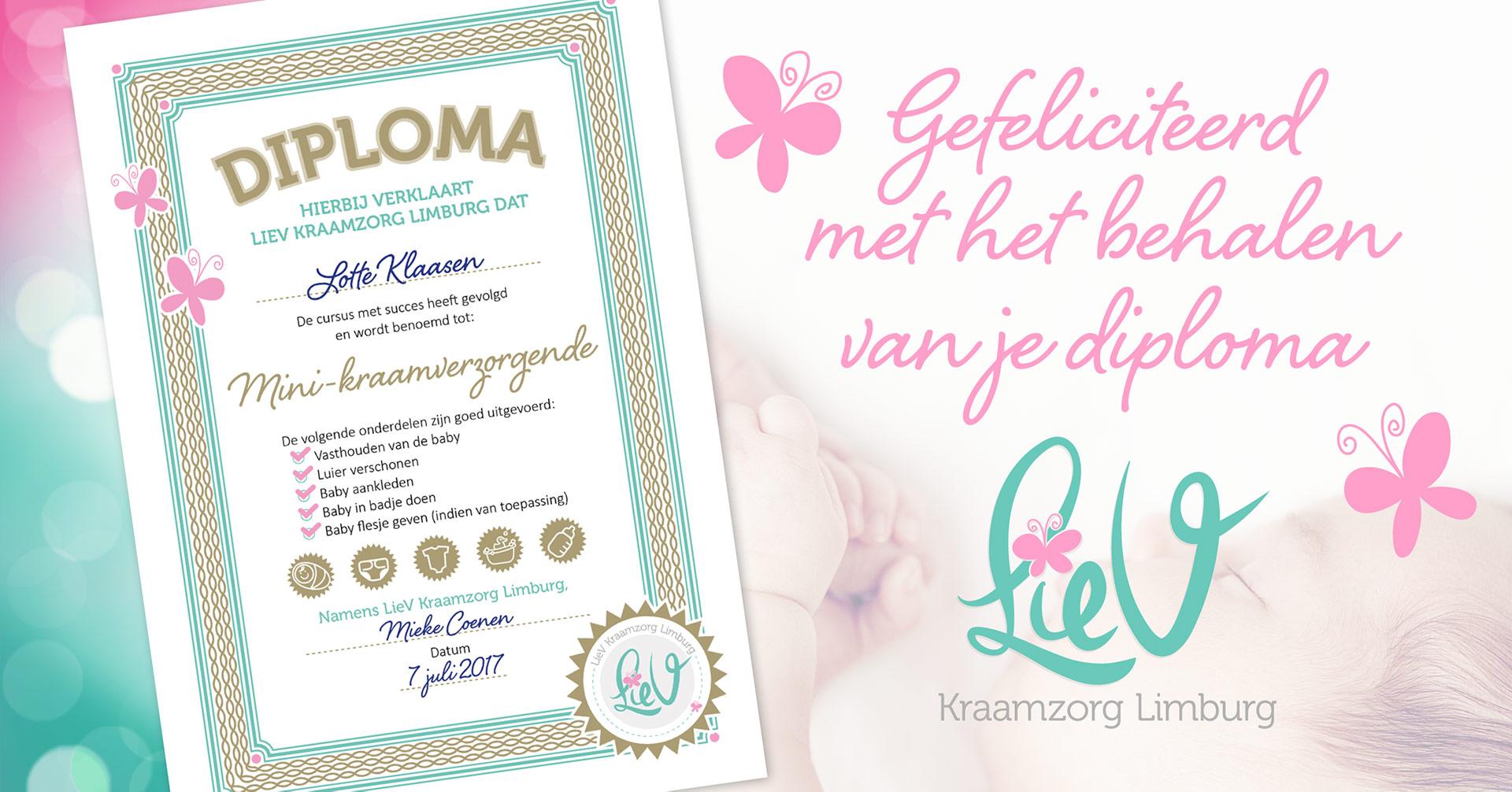LieV Kraamzorg Limburg – Diploma