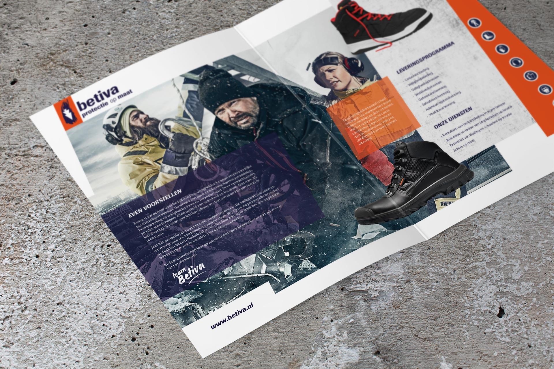 Betiva – A4 folder binnenkant