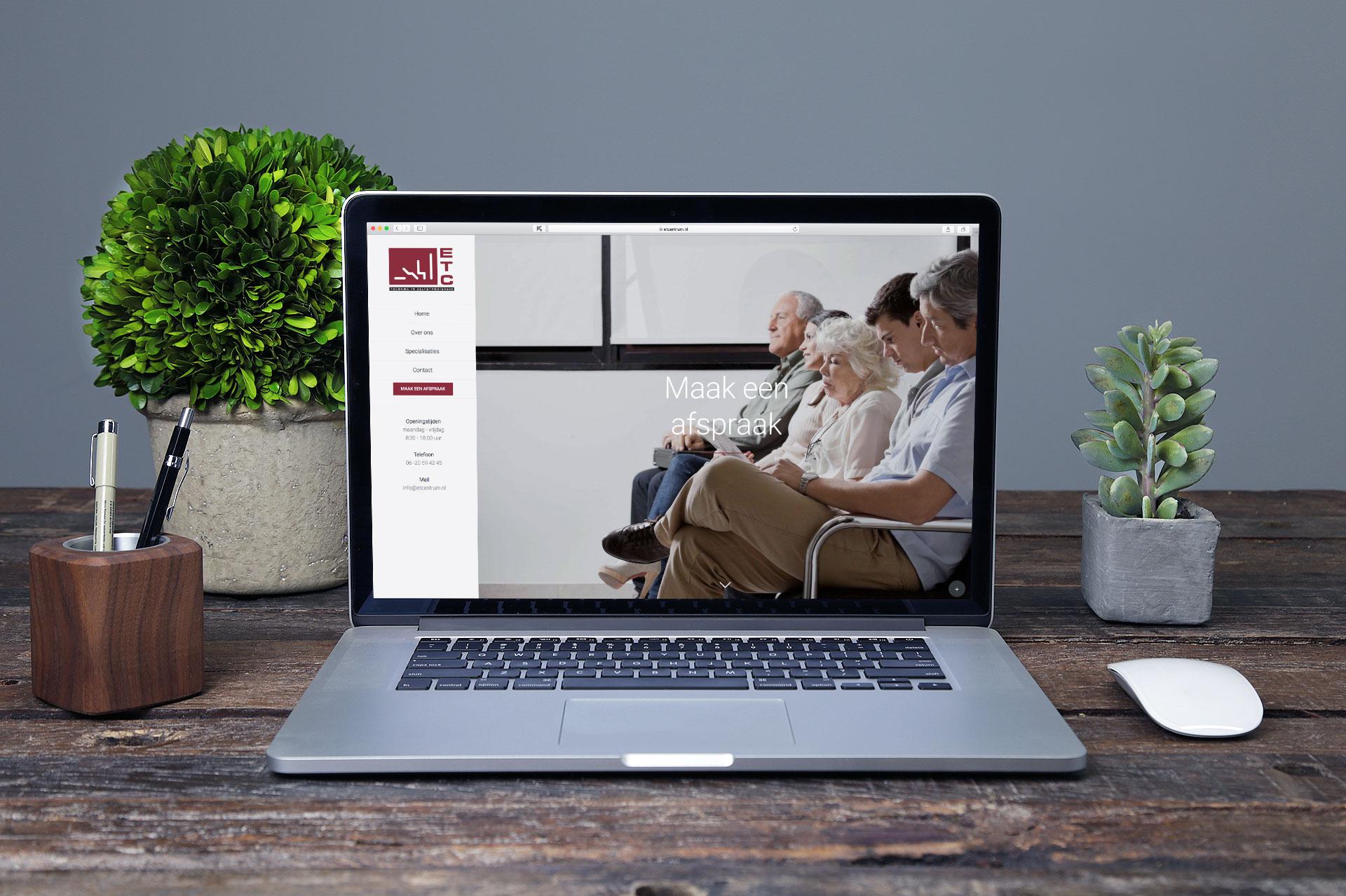 ETCentrum website – maak een afspraak