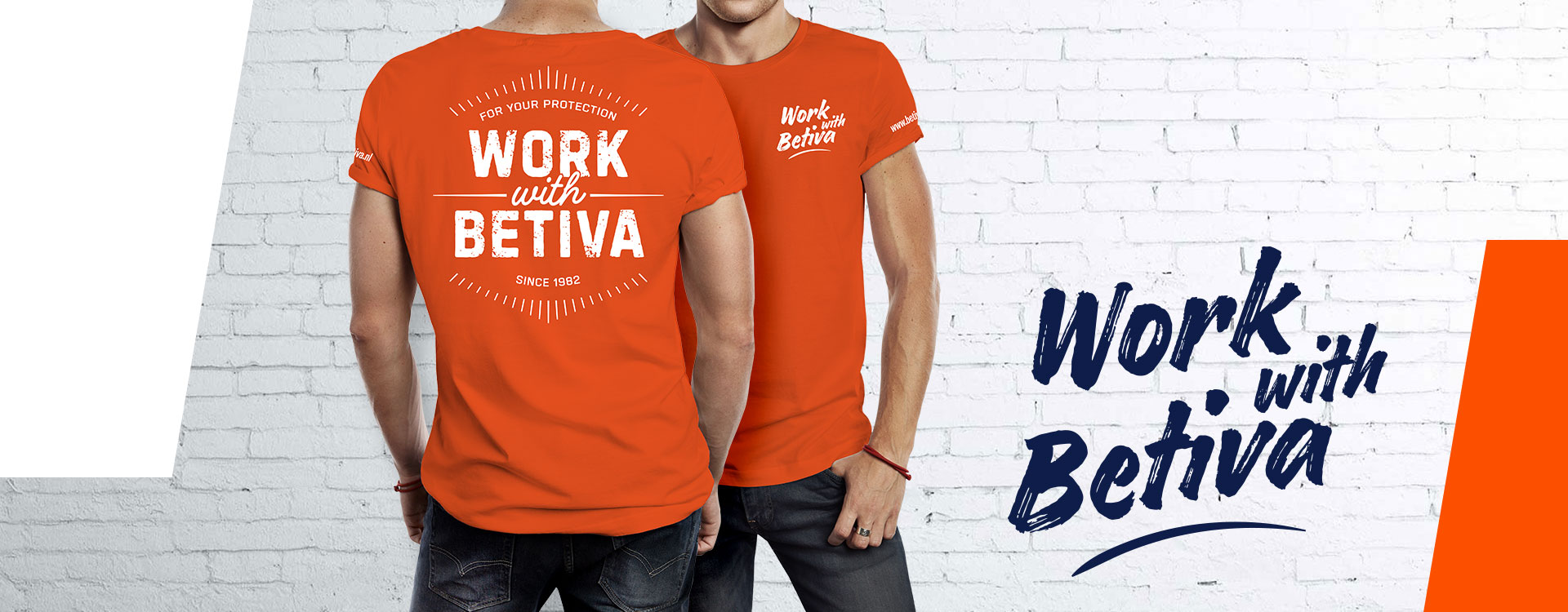 Work with Betiva T-shirt